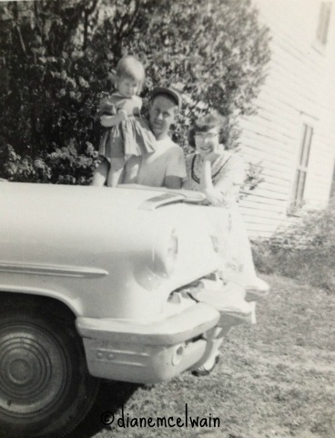 me,dad,mom,car